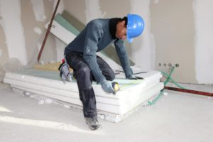 this image shows new york city apartment popcorn ceiling removal