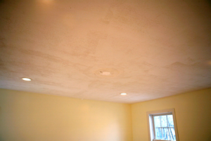 this picture shows nyc popcorn ceiling removal